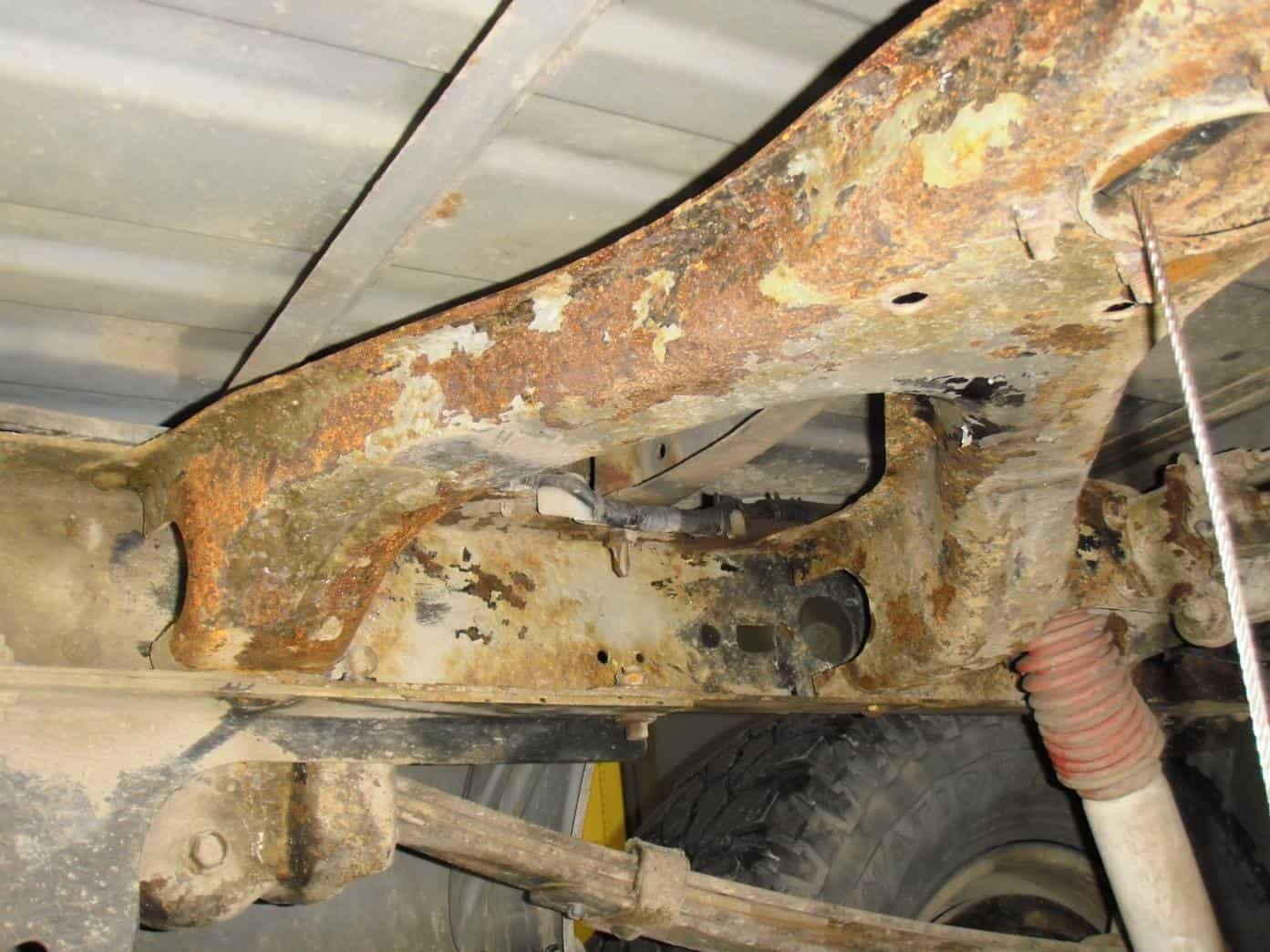Toyota Tundra Recalled for Frame Rust | NH Oil Undercoating